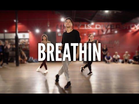 ARIANA GRANDE - Breathin   Kyle Hanagami Choreography