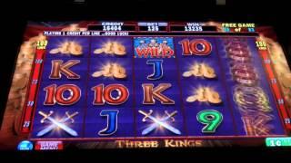 IGT - Three Kings Slot - SugarHouse Casino - Philadelphia, PA