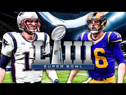 Super Bowl 53 Simulation & Predictions | Madden NFL 19