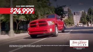 Jim Glover Dodge Chrysler Jeep Ram Fiat - Get a new Ram for less than $25,000!