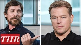 'Ford v Ferrari': Wimpy Fights, Brotherly Love & Fast Cars with Christian Bale & Matt Damon | TIFF