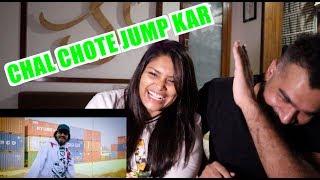 Jump kar reaction | Emiway reaction  | Couple reacts | BEST REACTION