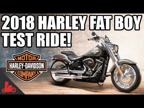 2018 Harley-Davidson Fat Boy 114 Test Ride!