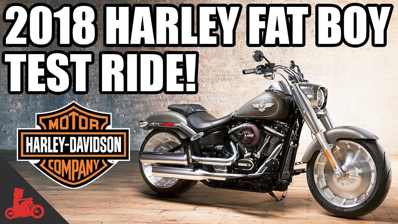 2018 harley davidson fat boy 114 test ride youtube. Black Bedroom Furniture Sets. Home Design Ideas