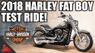 2018 Harley-Davidson Fat Boy 114 Test Ride!