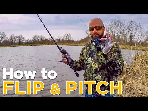 Flipping And Pitching For Bass | Explaining The Two Shallow Water Casting Techniques