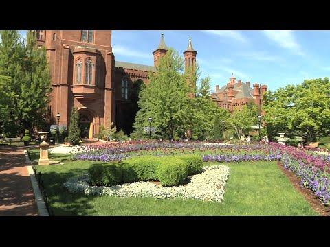 Beautiful Gardens Welcome Smithsonian Visitors In Washington, DC
