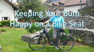 Keeping Your Bum Happy on a Bike Seat