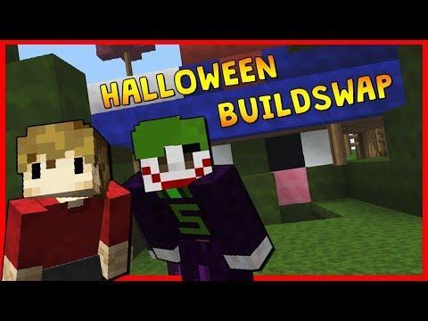 HALLOWEEN BUILDSWAP! /w Grian