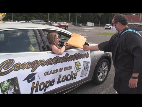 Diploma Parade - Battery Creek High School