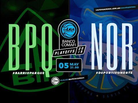 #LaLigaArgentinaBancoComafi | 05.05.2019 Barrio Parque vs. Deportivo Norte | 8vos. Juego 2