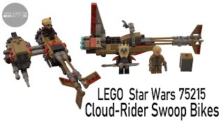 LEGO Minifigure Toy GIVE-AWAY - LEGO Star Wars 75215 Cloud-Rider Swoop Bikes