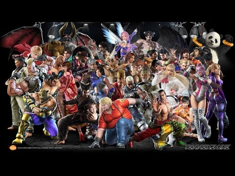 Tekken tag tournament 2 characters and xbox ps3 covers youtube