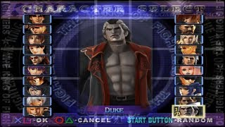#817 King of Fighters Maximum Impact (PS2) Boss: Duke playthrough.