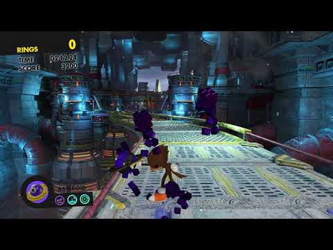 Sonic Forces (PS4): Animation Glitches (Avatar)