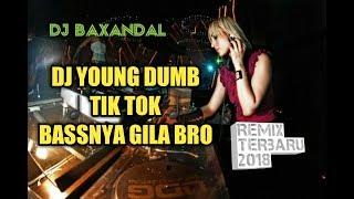 Gambar cover Dj slow tiktok bass nya gila young dumb remix goyang sampai pagi