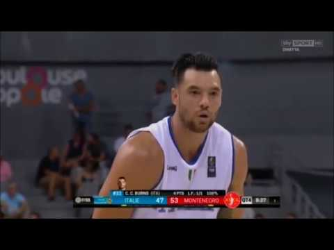 CHRISTIAN BURNS - Italia vs Montenegro