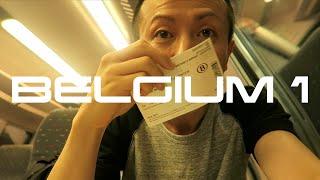 ベルギー・ブリュッセル旅行 Day1 / 空港 → メトロ (地下鉄) → ホテル → ベルギーワッフル・ベルギービール / Brussels Belgium Trip #1