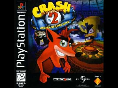Crash Bandicoot 2: Cortex Strikes Back - Air Crash (Skull Route)
