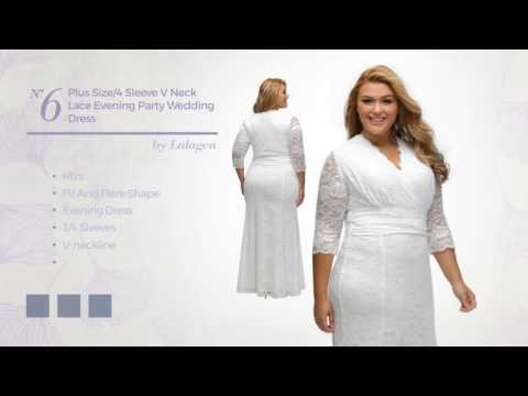 Ant Plus Size White Dresses Collection