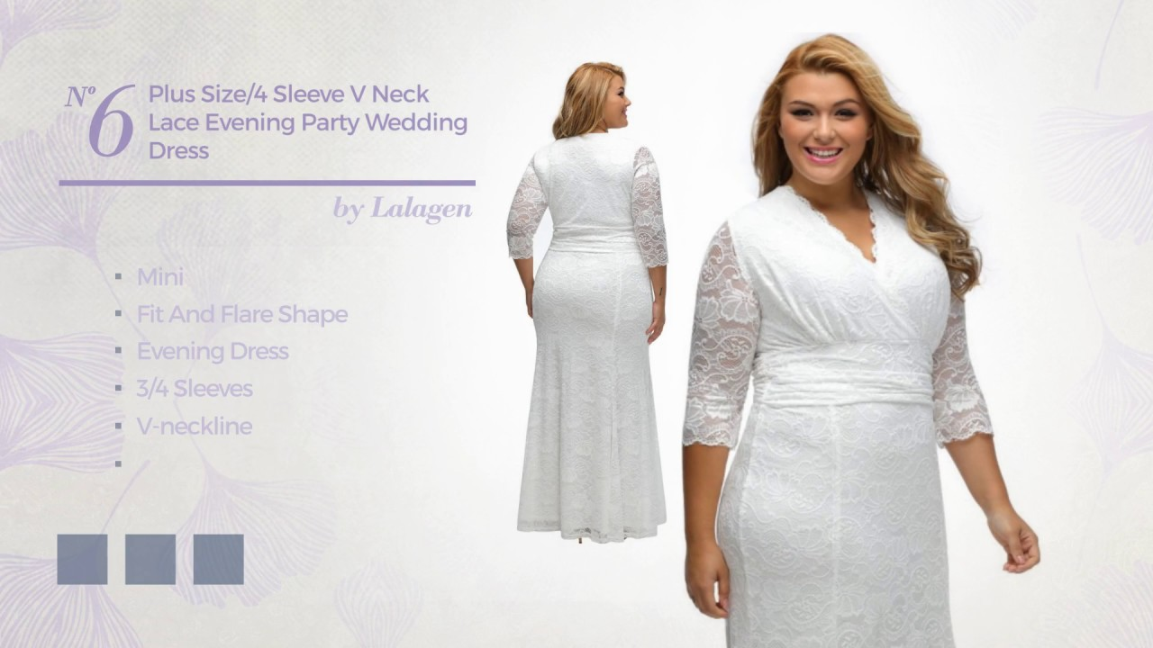 Elegant Plus Size White Dresses Collection