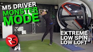 How far can I hit the TaylorMade M5 Driver in MONSTER MODE!?