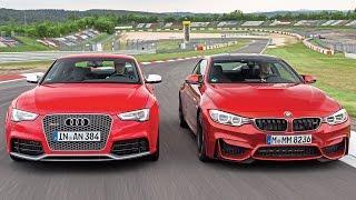 frist drive 2016 bmw m4 vs audi rs5