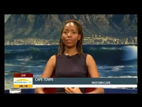 Vangile Makwakwa, Morning Live interview