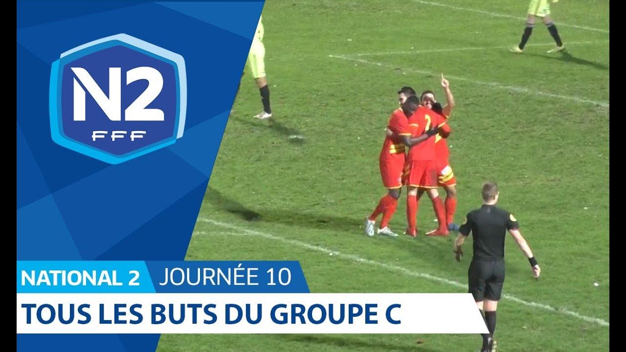 Calendrier National 2 Groupe A.National 2 C Les Buts De La 10e Journee En Images