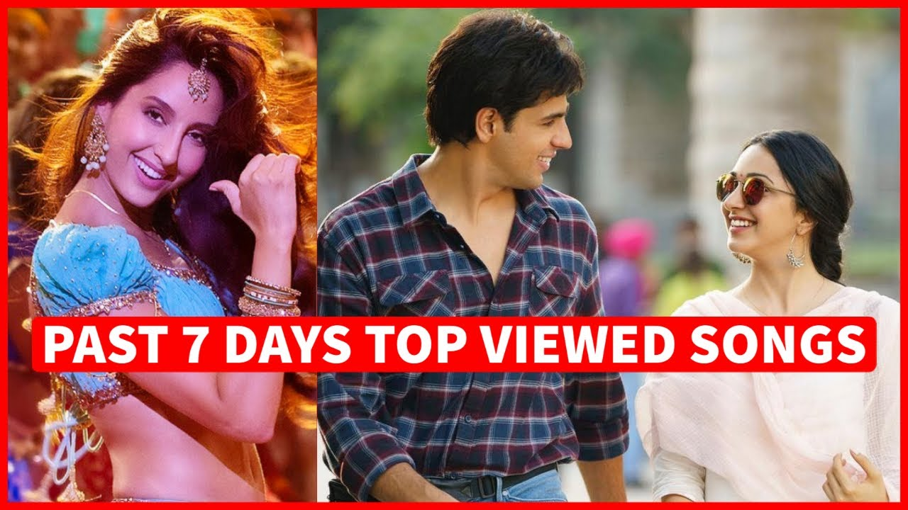 Past 7 Days Most Viewed Indian Songs on Youtube [2 August 2021]