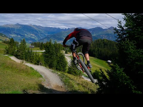 Downhill: Bikepark Serfaus Fiss Ladis - Downhill Track - Live on Track | Felix´s Welt
