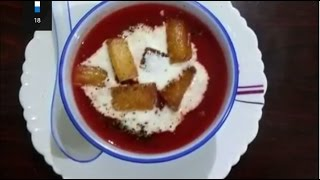 Healthy Tamato Carrot Beetroot Soup | Easy n Delicious Soup |