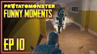 PUBG Funny Moments #10 | Best PUBG WTF Fails & Funny Moments (PlayerUnknown's Battlegrounds)