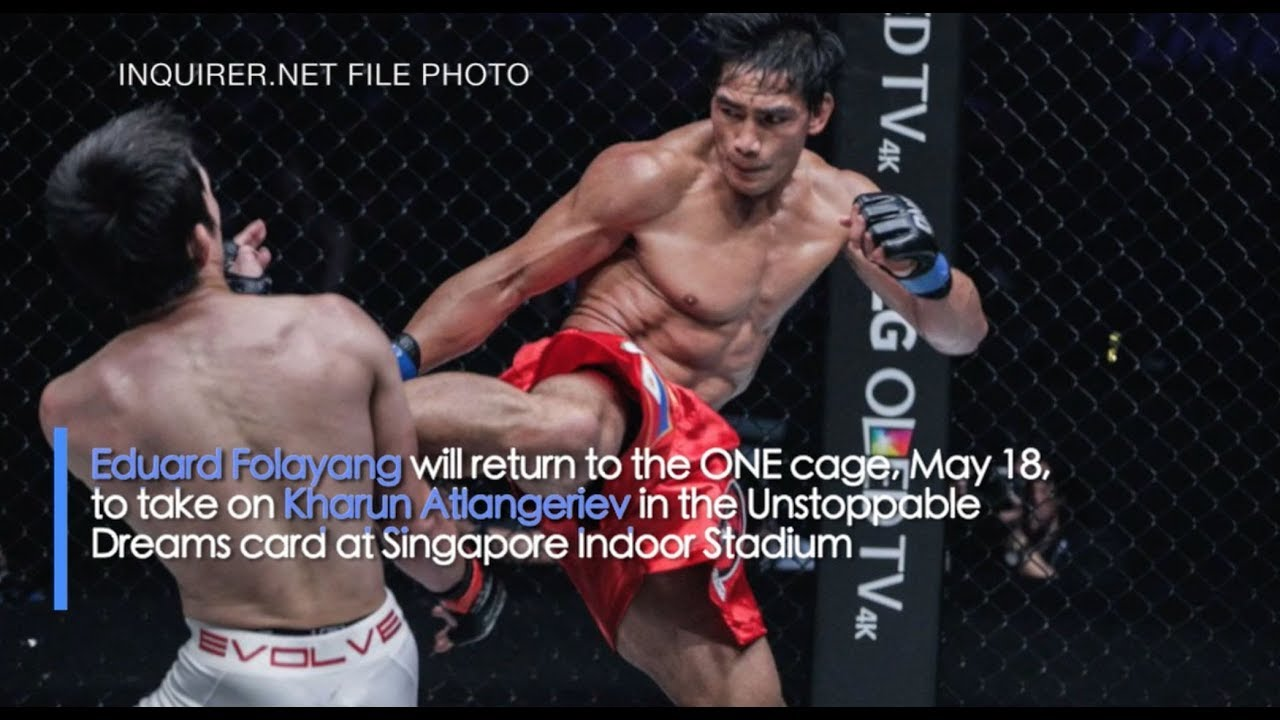 Folayang vows to be aggressive yet careful in return fight