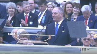Gov. John Bel Edwards sworn in for second term as Louisiana Governor
