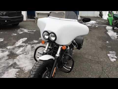 Fairing Quattro for Harley Davidson Fat-Bob