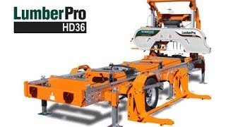 Norwood Lumberpro Hd36 Portable Sawmill - Part 2 (fully Hydraulic Bandsaw Mill)