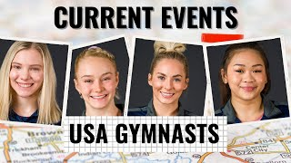 Current events with USA gymnasts | Mykayla Skinner