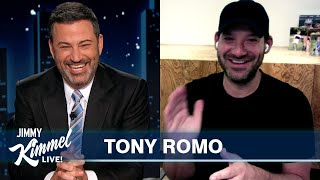 Tony Romo Imitates Brady, Manning and Favre