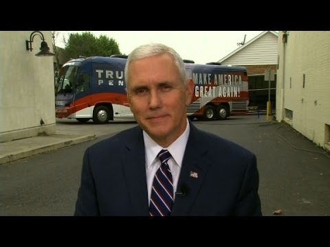 Mike Pence on defending Trump's statements