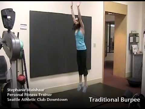 5 Progressions of the Burpee | Seattle Athletic Club Downtown