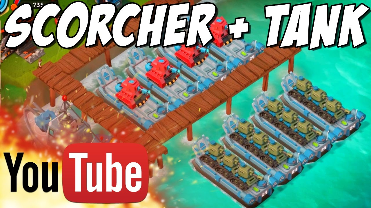 Boom Beach Scorcher Landing Craft