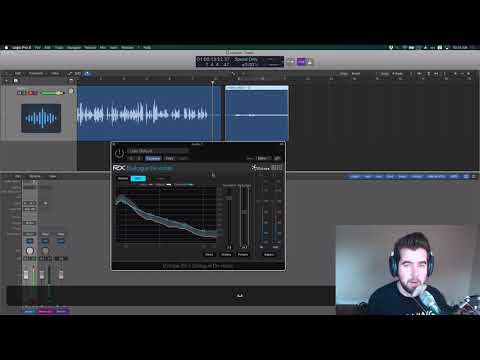 How to Fix Background Noise and Clipping in Podcast Audio with Izotope's RX Elements Plugins