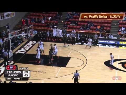 MBB vs. Pacific Union College - Highlights - 11/20/14