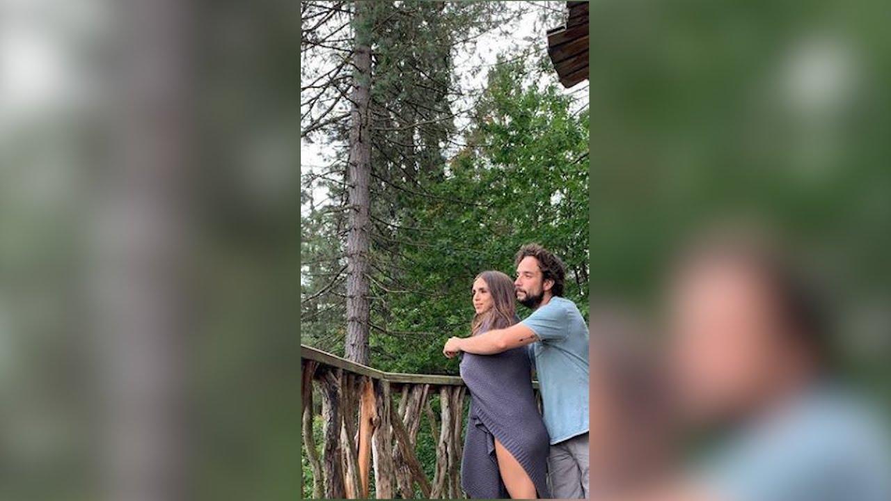 Elena Furiase desconecta con la naturaleza