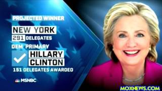 MSM Interrupts Donald Trump Victory Speech To Declare Hillary Wins New York With 30% Of Vote Counted