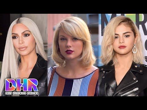 Kim Kardashian SURPRISES Taylor Swift - Selena Gomez Returns To REHAB (DHR)