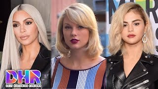 Kim Kardashian SURPRISES Taylor Swift - Selena Gomez Returns To REHAB (DHR)