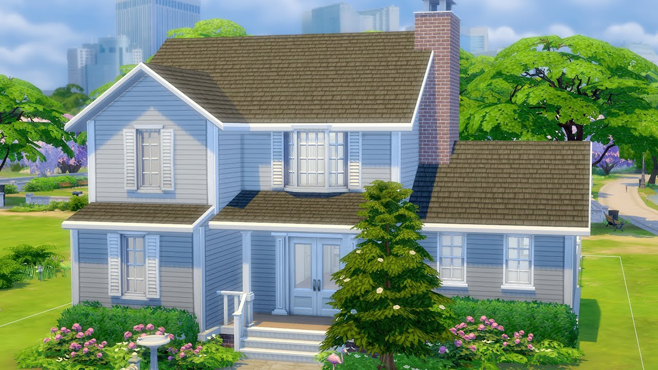 How To Build a Good House in The Sims 8 (Tutorial) - YouTube