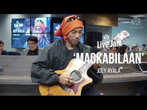 Rappler Live Jam: Joey Ayala - 'Magkabilaan'